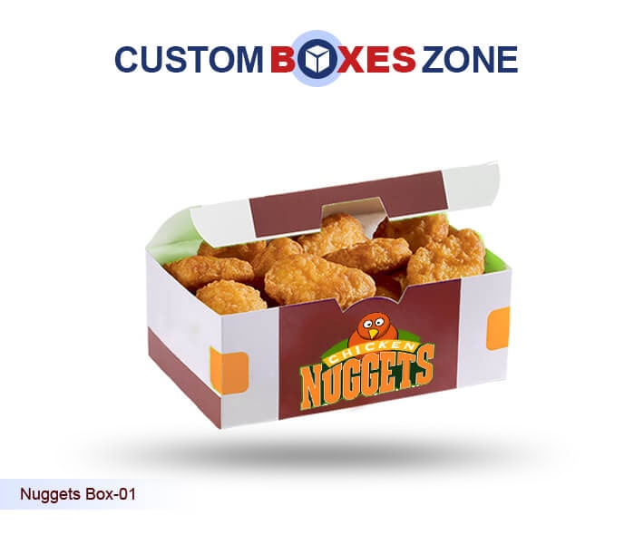 Custom Nuggets Boxes Nuggets Packaging Boxes