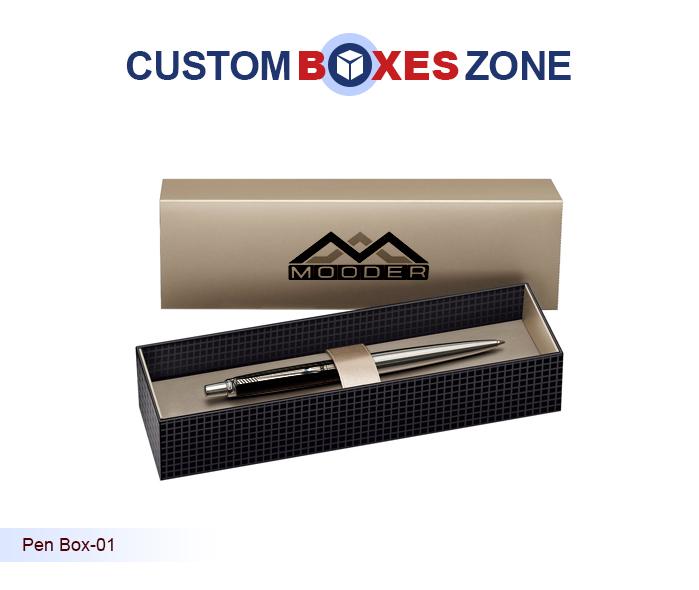 8a1bd2041b90 Custom Pen Boxes - Empty Pen Gift Box Packaging